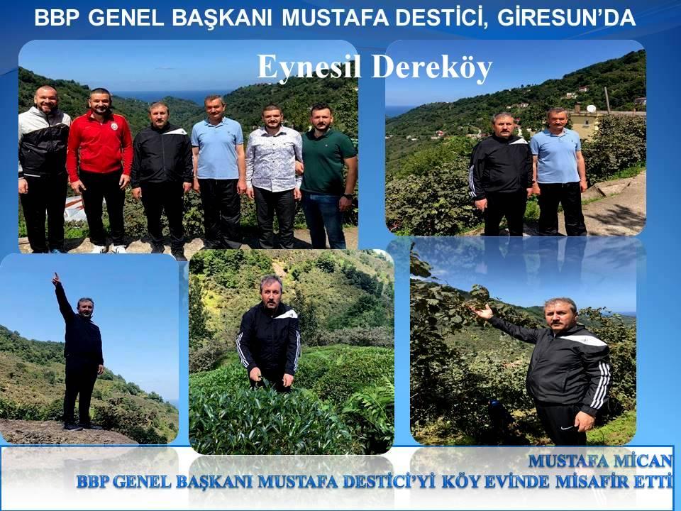 BBP GENEL BAŞKANI MUSTAFA DESTİCİ, GİRESUN'DA