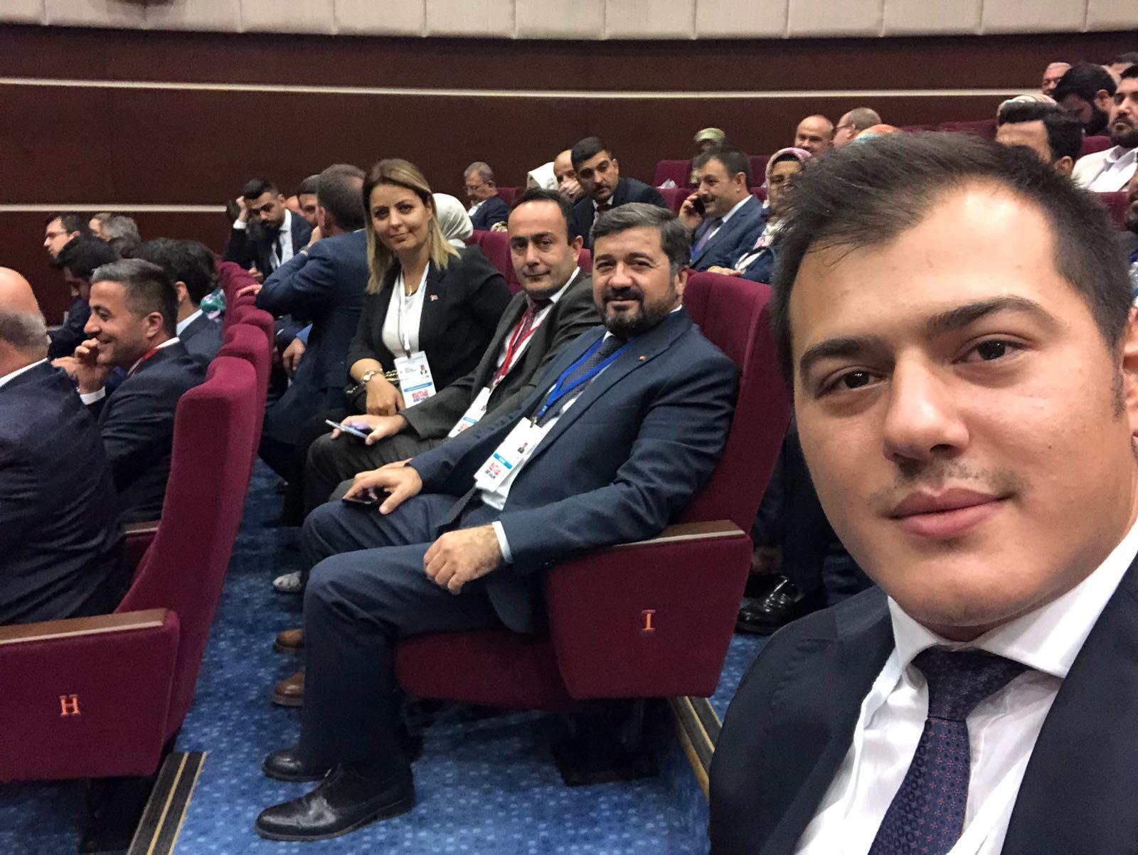Av. Şenlikoğlu126. Genişletilmiş İl Başkanları toplantısına katıldı.