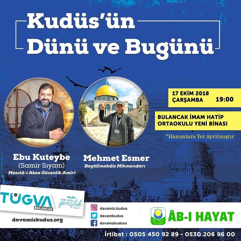 Bulancak'ta Kudüs Konferansına Davet