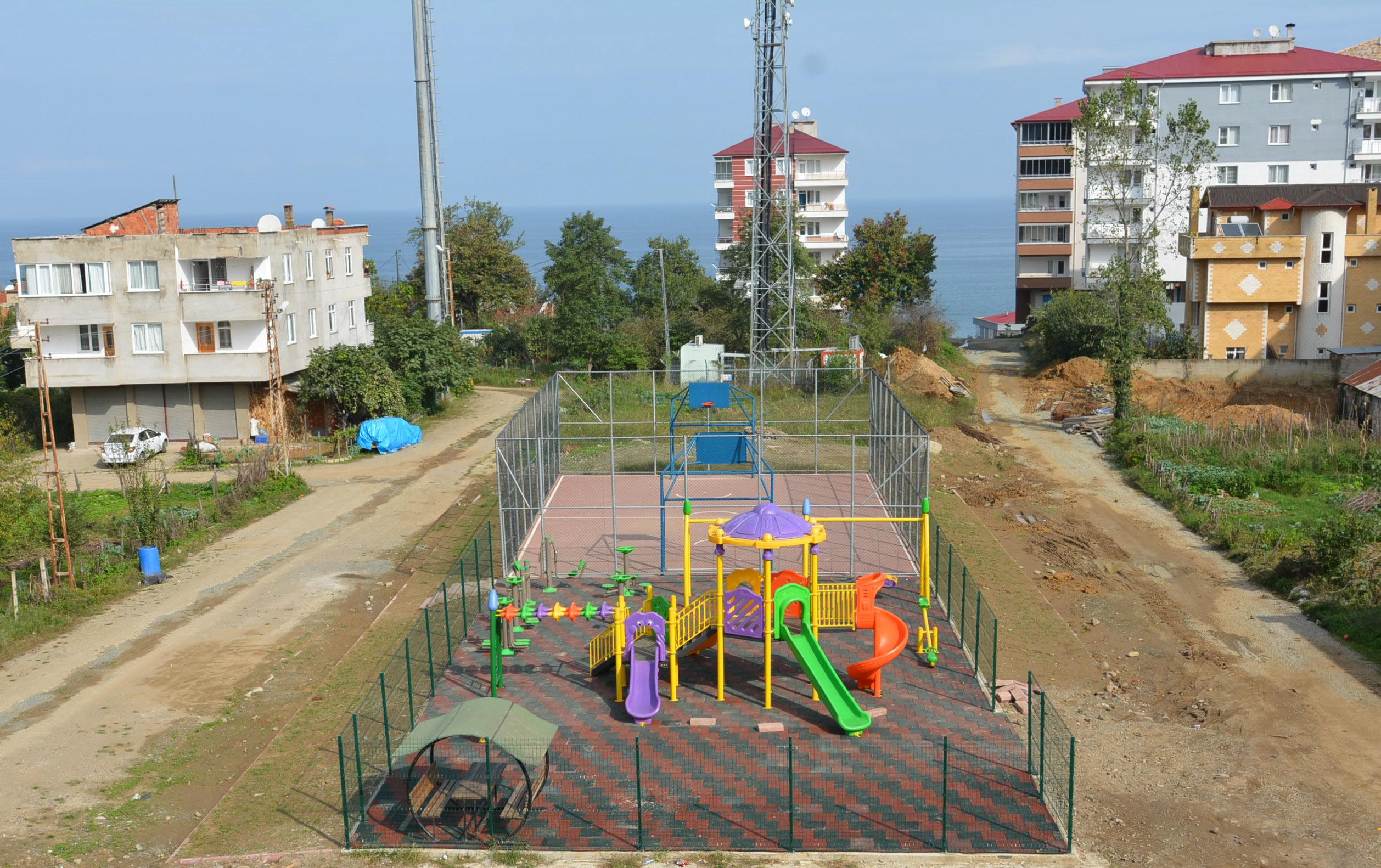 Bahçelievler Mahallesi Aile ve Çocuk Parkı Tamamlandı