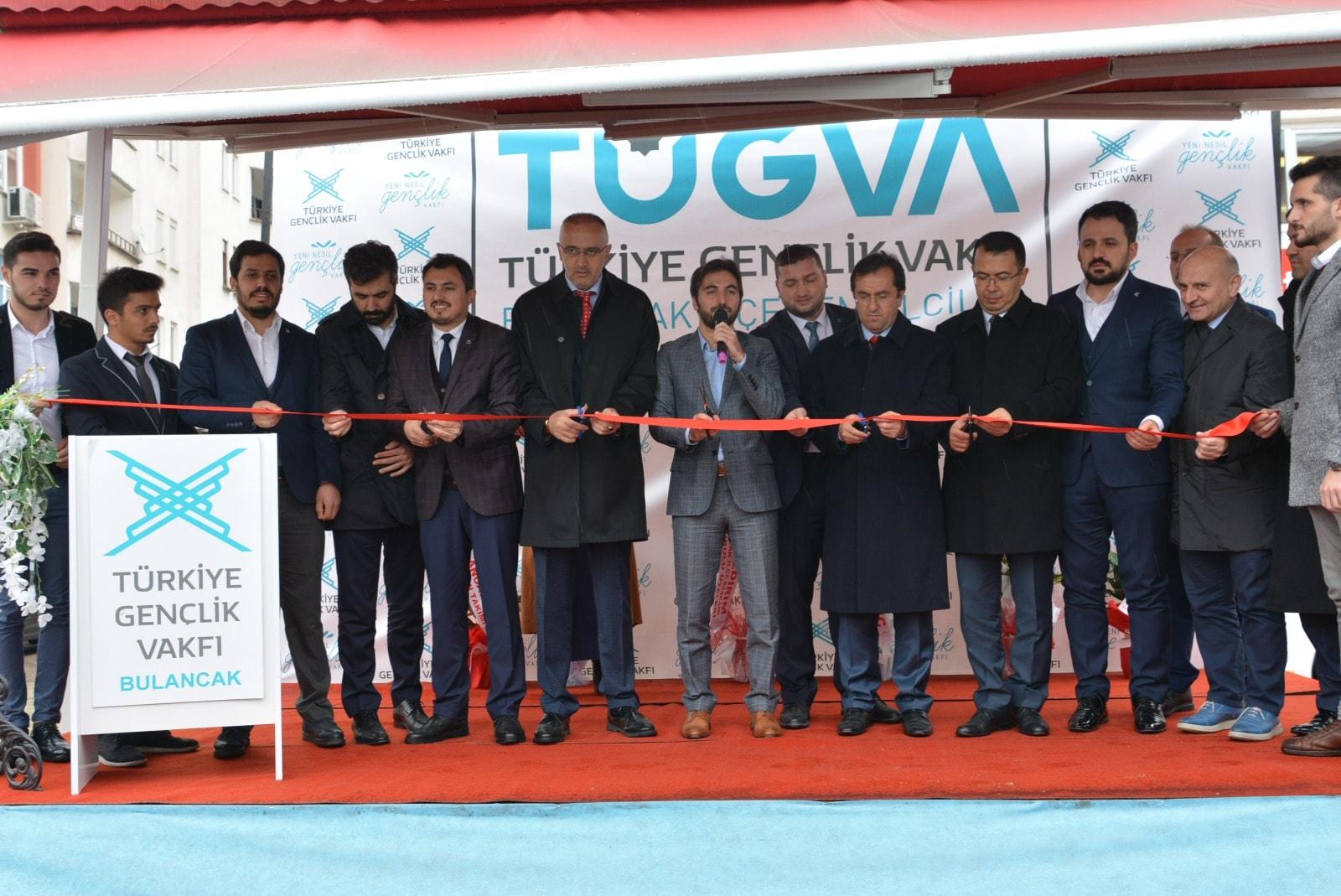 TÜGVA Bulancak İlçe Binası ve Kıraathanesi açıldı