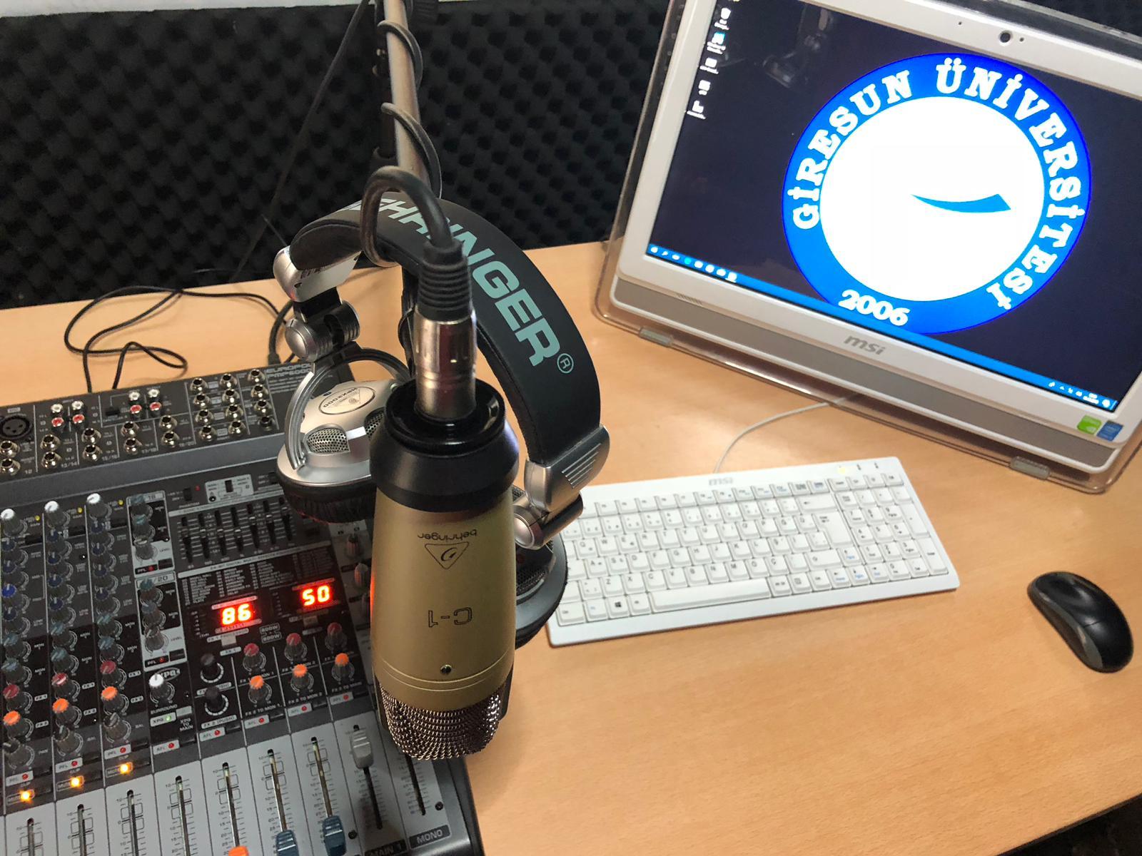 Alucrada Radyo MYO Deneme Yayınına