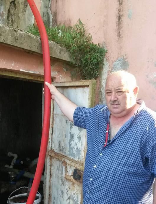 Eriklik içme suyu birlik başkanı Mehmet Erdem: Suyumuz