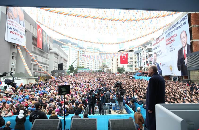 Cumhurbaşkanı Erdoğan Giresunlulara Seslendi