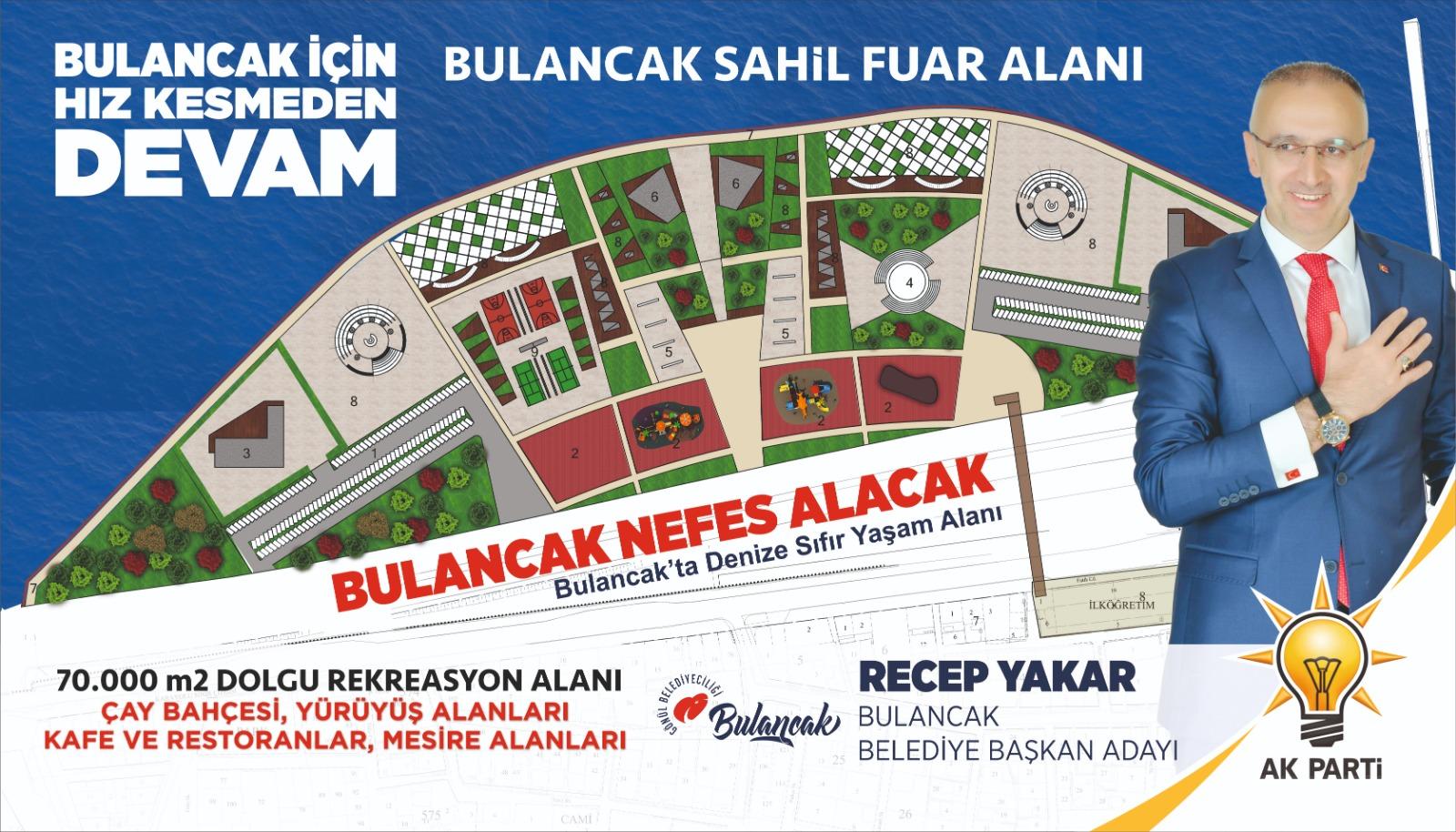 Başkan Yakar'dan dev bir proje