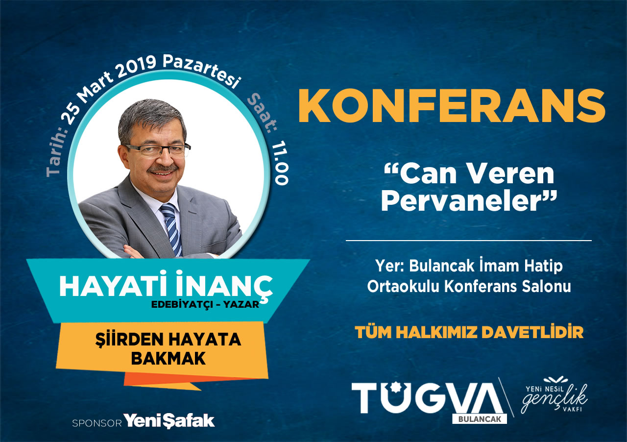 TÜGVA Bulancak'ta Hayati İnanç konferans