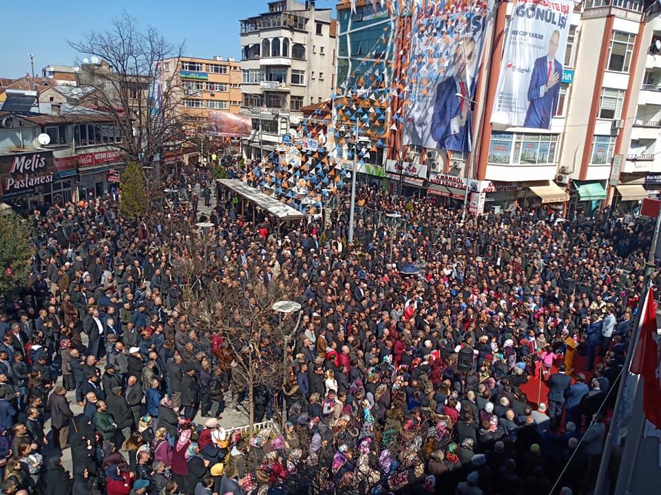 31 Mart Yerel Seçimleri Bulancak Meydan Mitingleri başladı.