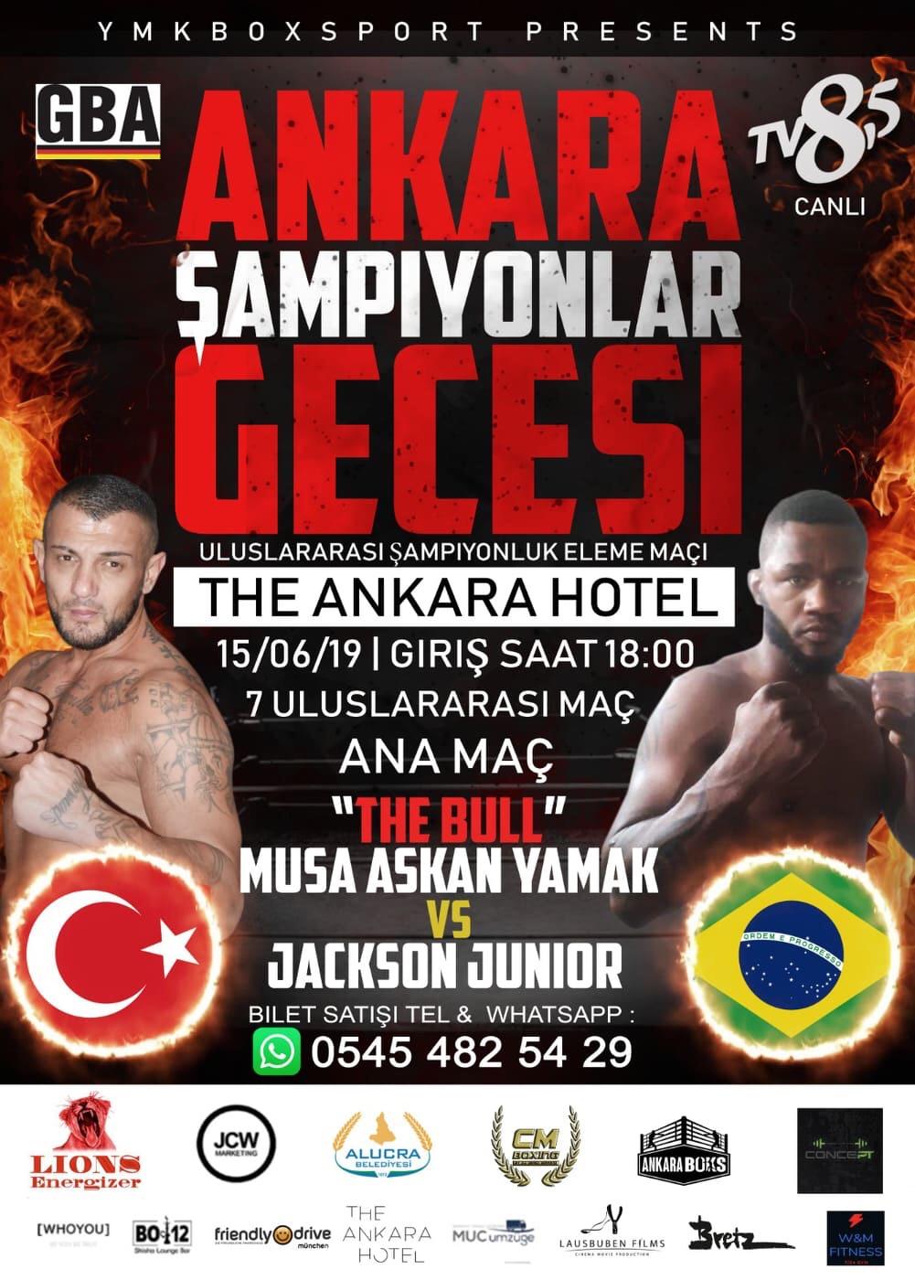 Giresunlu Şampiyon Boksör Ankara'da Ringe Çıkıyor