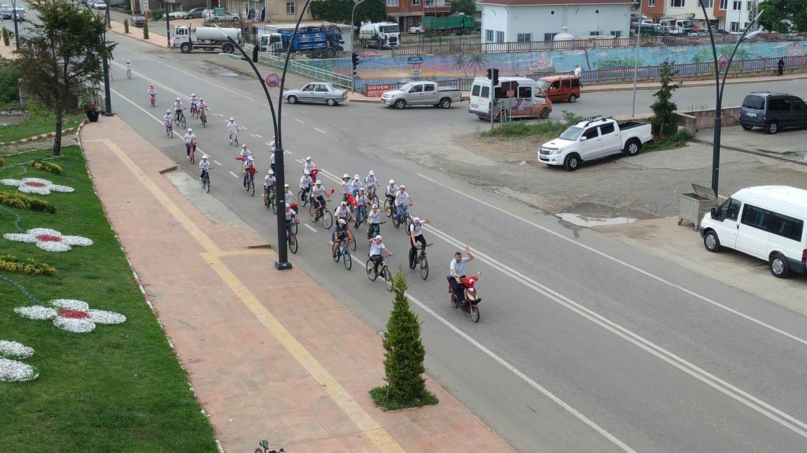 TÜGVA Bulancak'tan Bisiklet