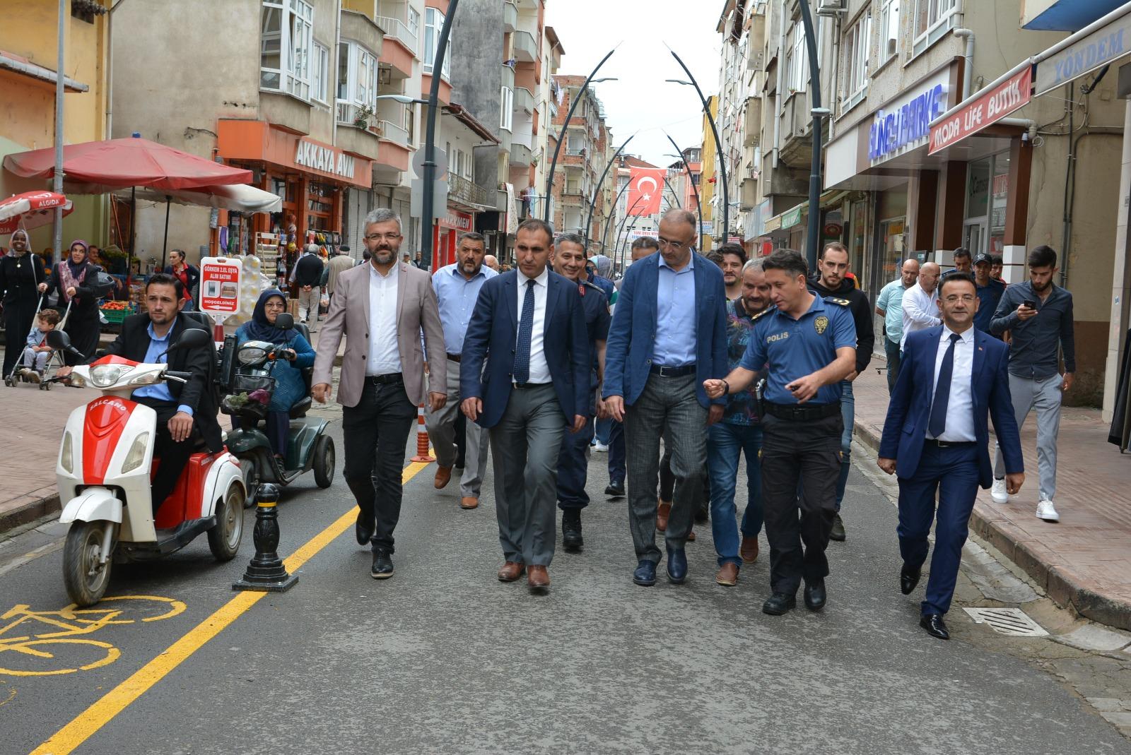 Bulancak Belediyesi Bisiklet ve Engelli Yolu Açıldı