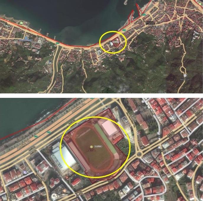 Çotanak Stadı ve Millet Bahçesi projesi