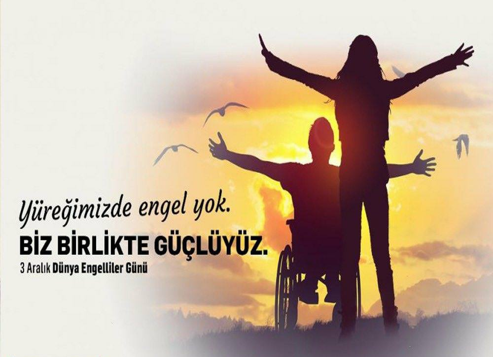 Başkan Yakardan 3 Aralık Dünya Engelliler Günü