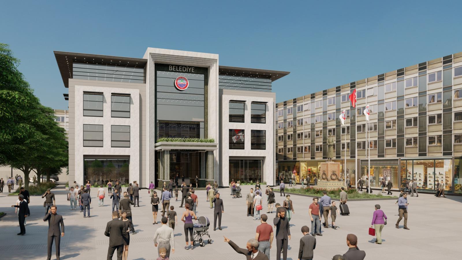 Yeni Meydan ve Belediye Binası Projesi Hazır!