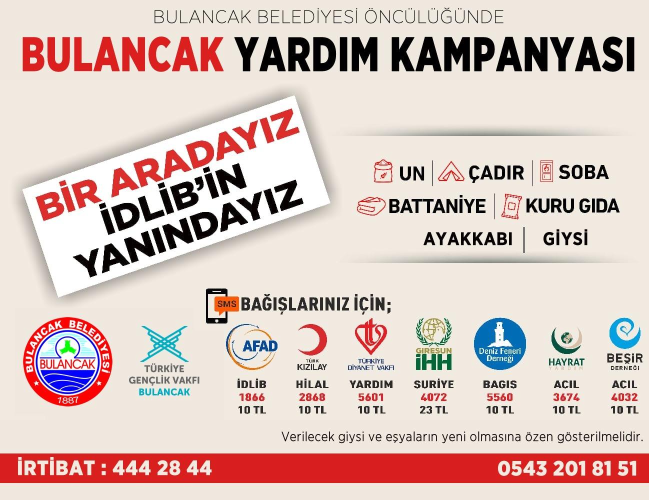 BULANCAK İDLİB'İN YANINDA!