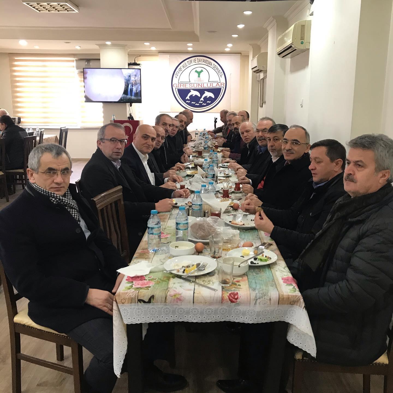 Giresun STK Başkanları Kahvaltıda Buluştu