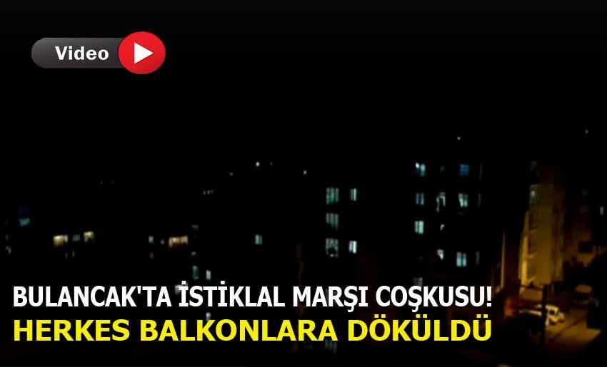 Bulancak'ta İstiklal Marşı Coşkusu!