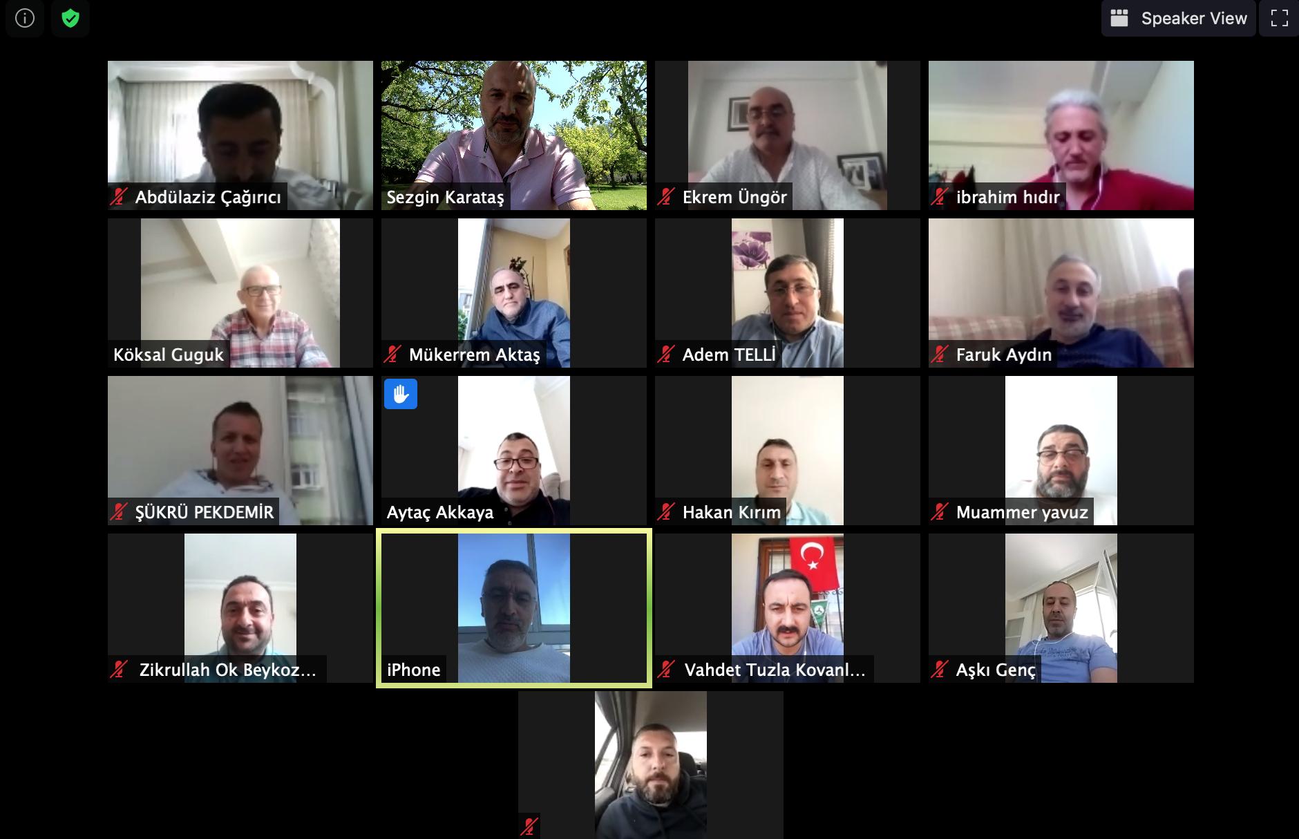BUFED Halka Açık Online Toplantısını Yaptı