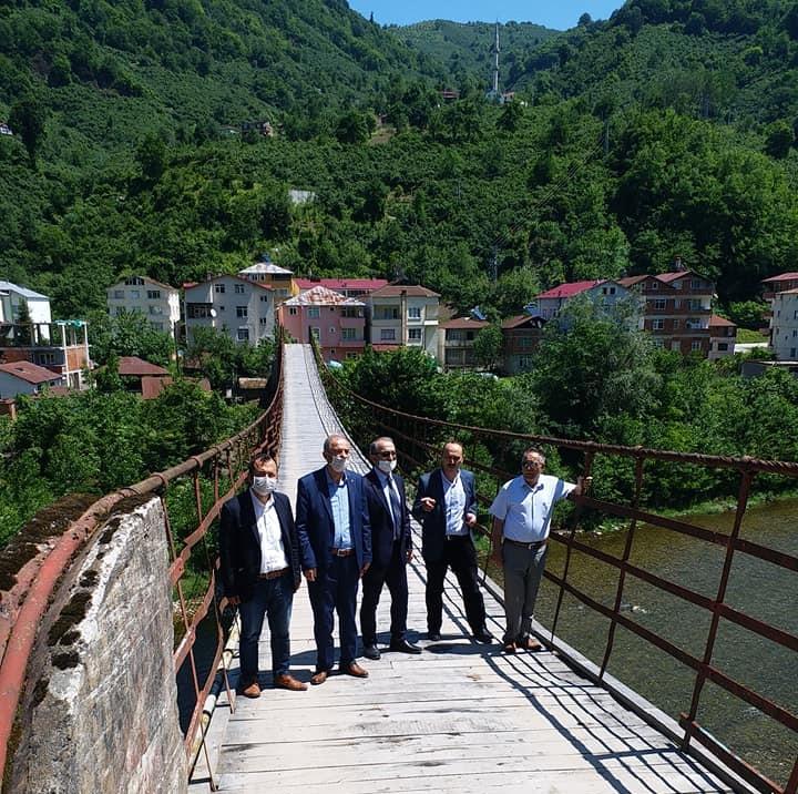 Kuzgun ve Ketençukur'a Beton Köprü İsteniyor
