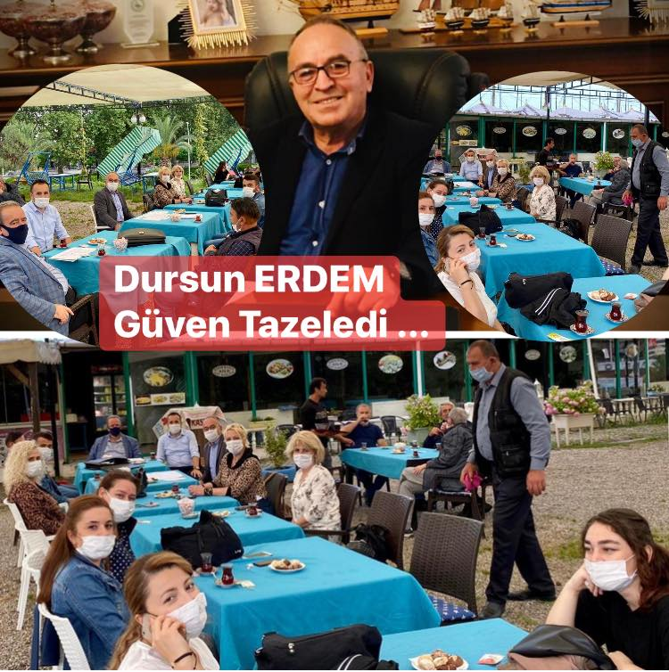 DURSUN ERDEM TEKRAR BAŞKAN SEÇİLDİ...