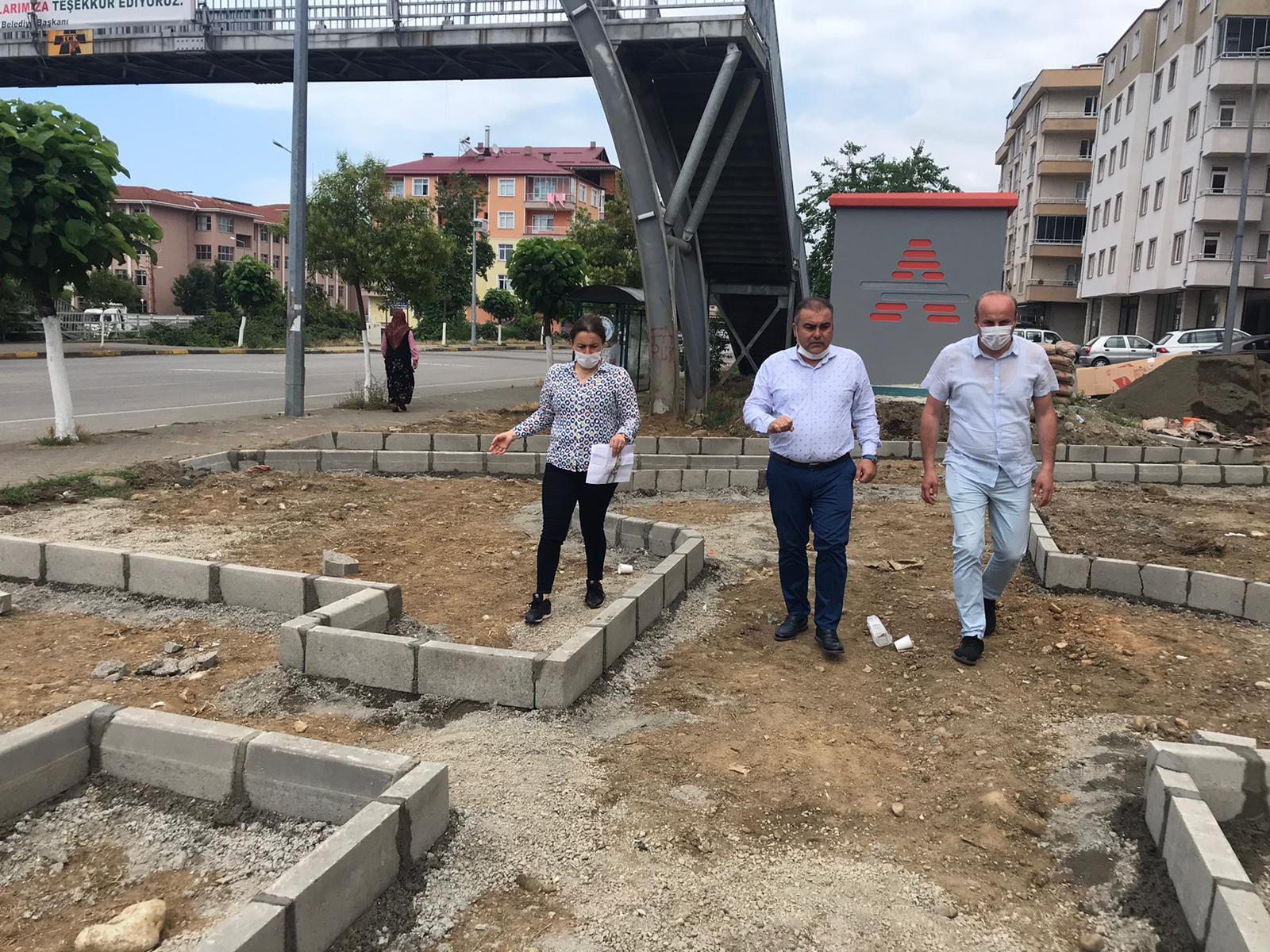 AYDINLIKEVLER MAHALLESİ 'MAHALLE PARKI VE PEYZAJ' PROJESİNE KAVUŞUYOR