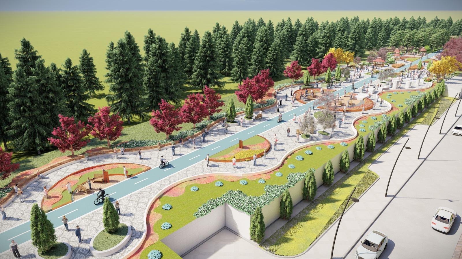 Selçuk Bayraktar Parkı Bulancak'ın yeni vitrini
