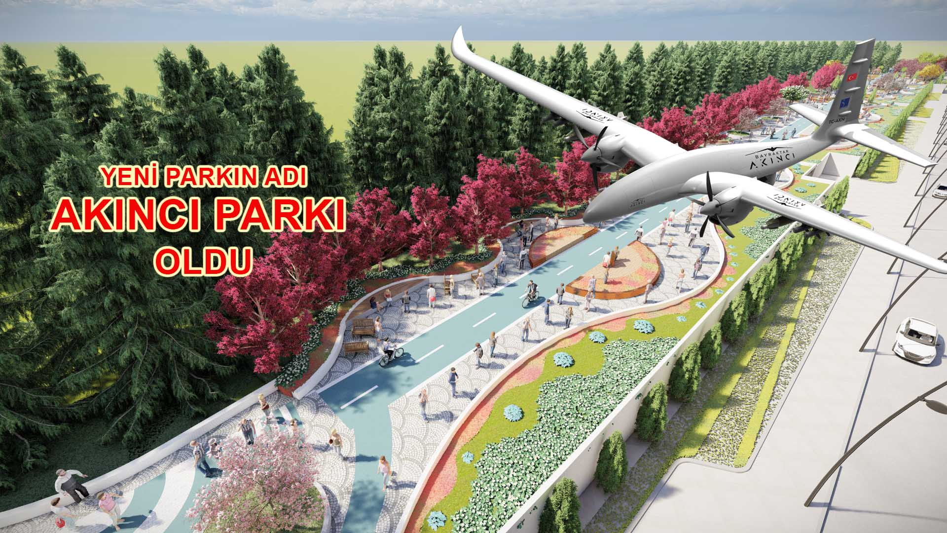 Yeni parkın adı AKINCI PARKI