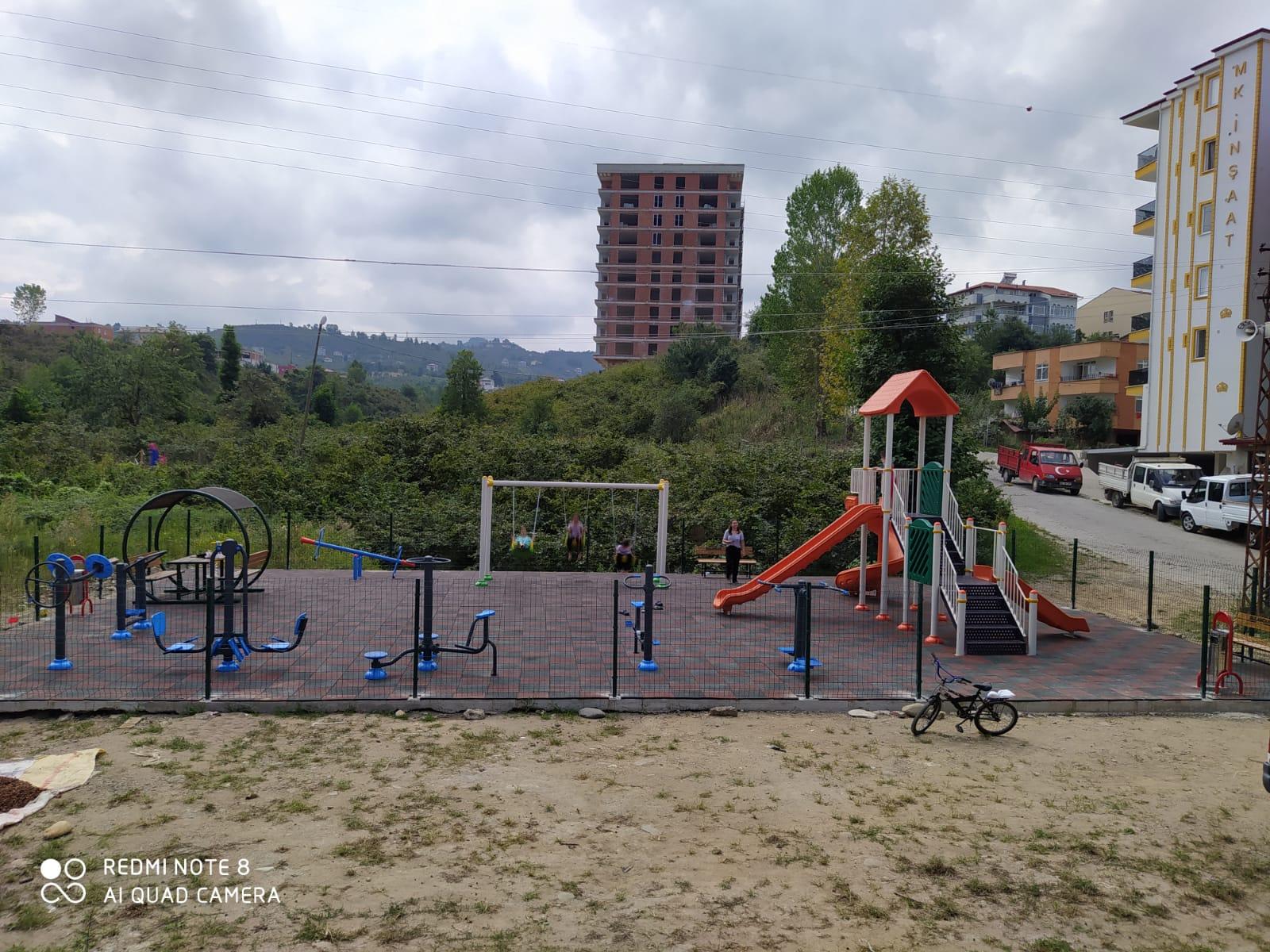 Bulancakı Çocuk Parkları ile