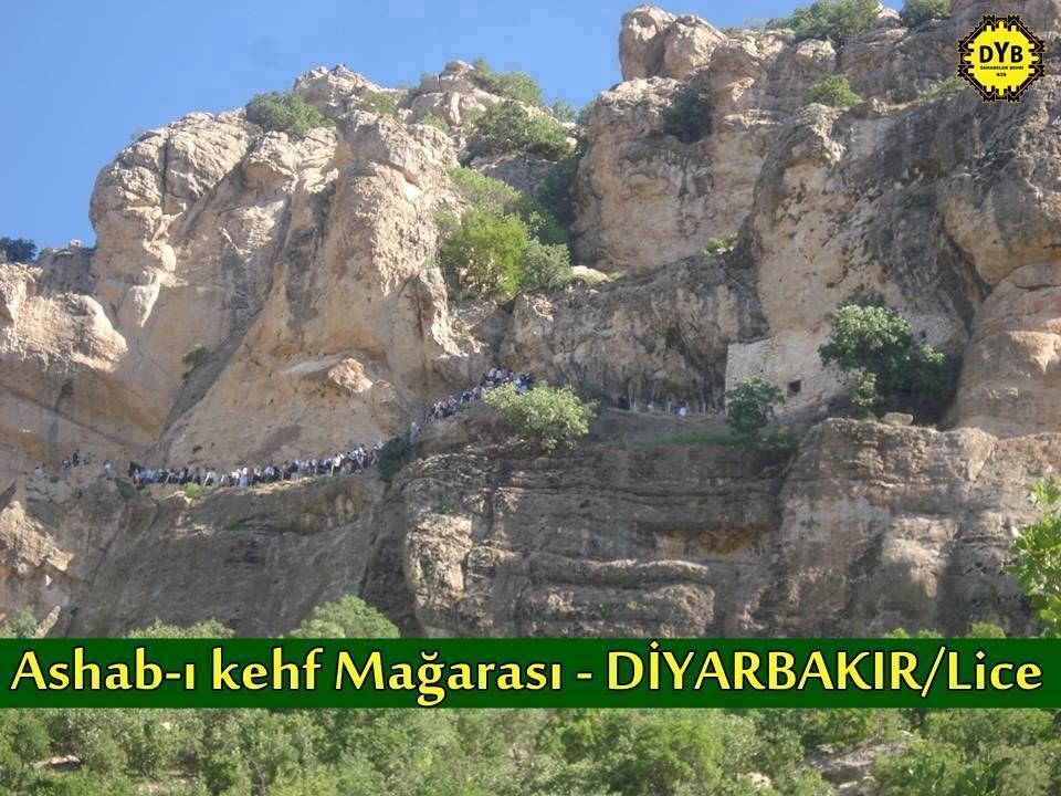 Eshab-ül Kehf'in Makamı Lice'dedir