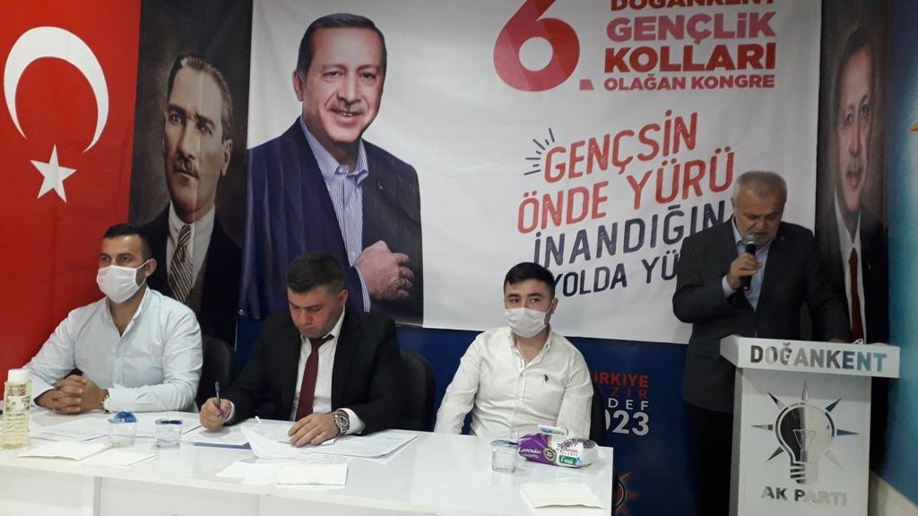 AK Parti Doğankent Gençlik Kolları Başkanı Emre Özden