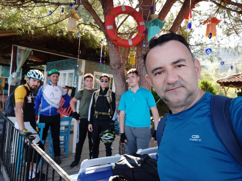 Bulancaklı bisikletçilerden Yason Burnu