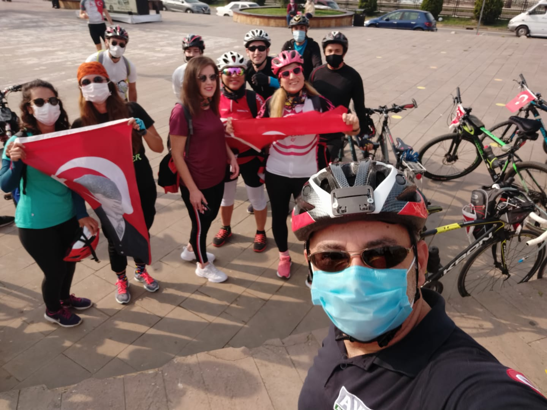 29 Ekim'de 29 km Bisiklet Etkinliği