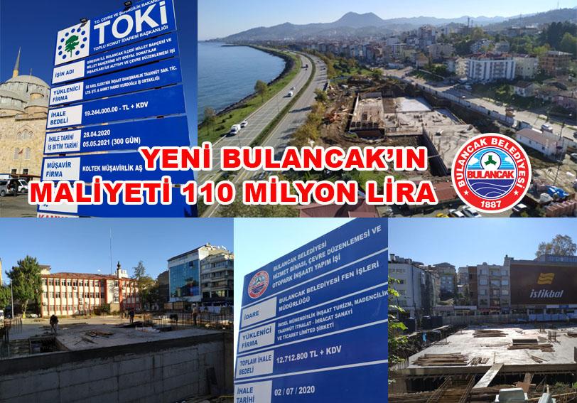 Yeni Bulancak'ın maliyeti 110 milyon