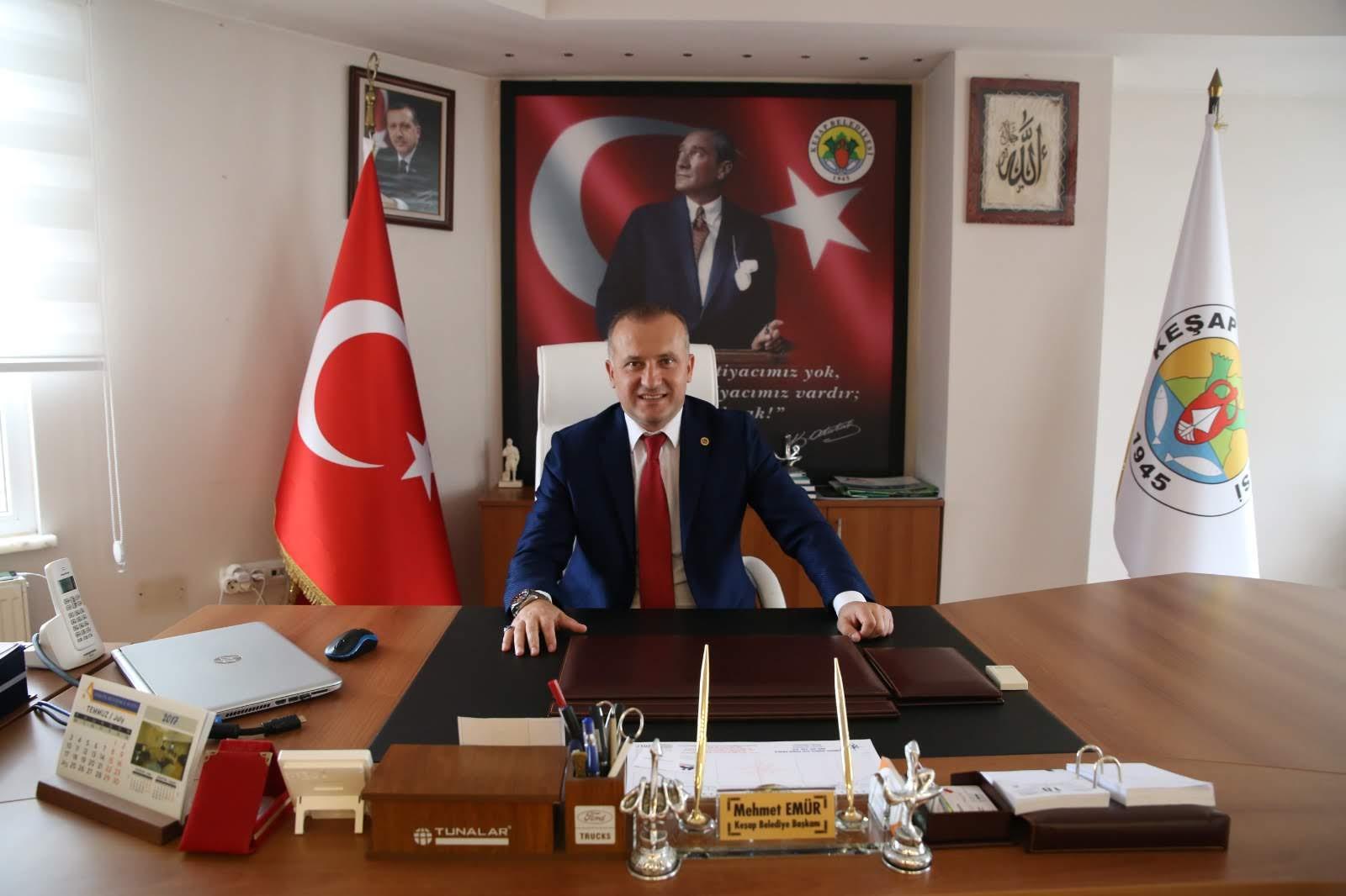 Başkan Emür'den 10 Kasım Atatürkü Anma