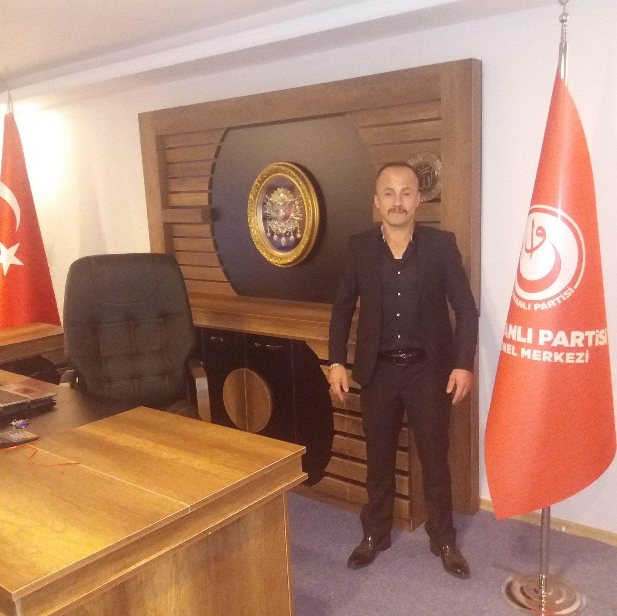 OSMANLI PARTİSİ GİRESUN İL BAŞKANI BELLİ
