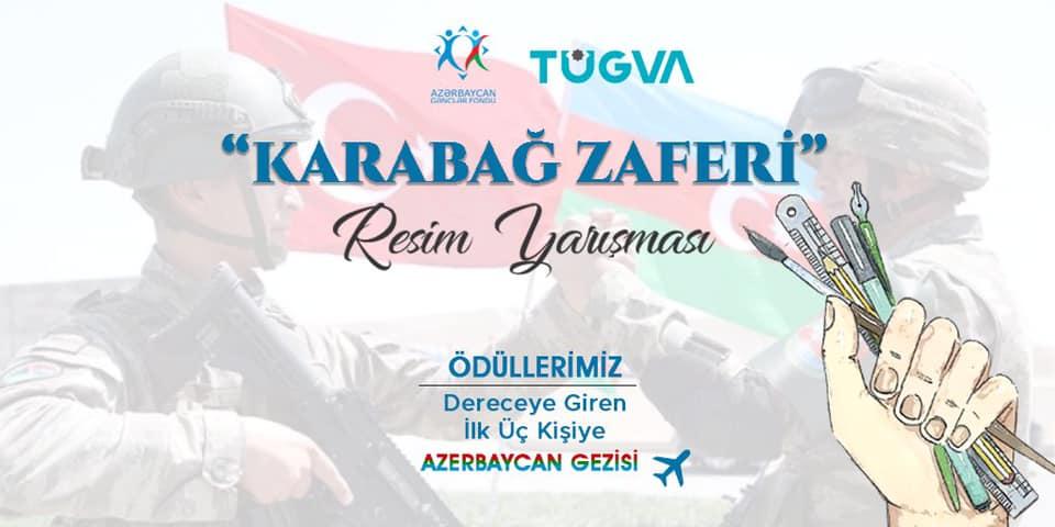 TÜGVAdan Azerbaycan konulu Resim