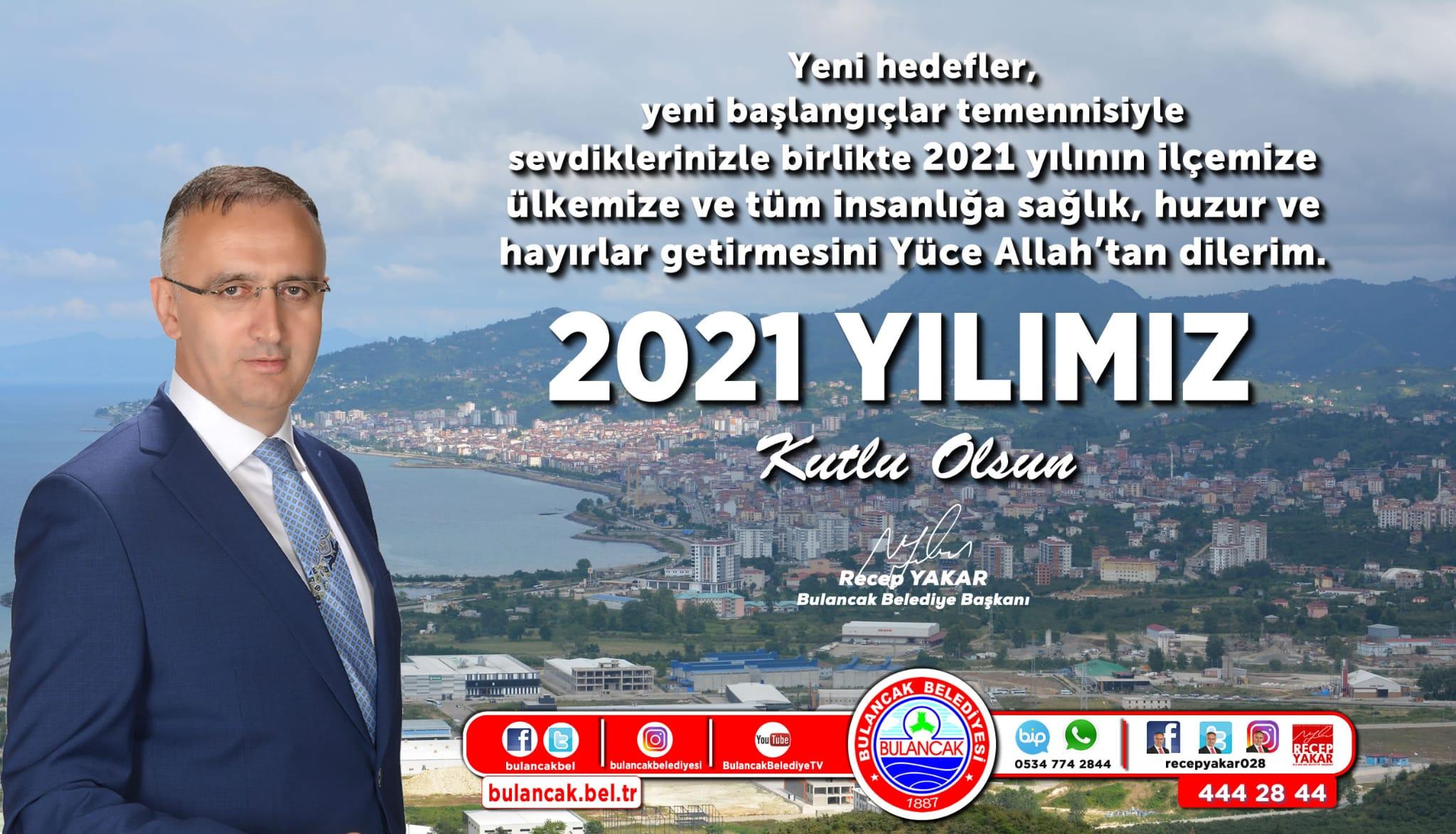 Başkan Yakar'dan Yeni Yıl Mesajı