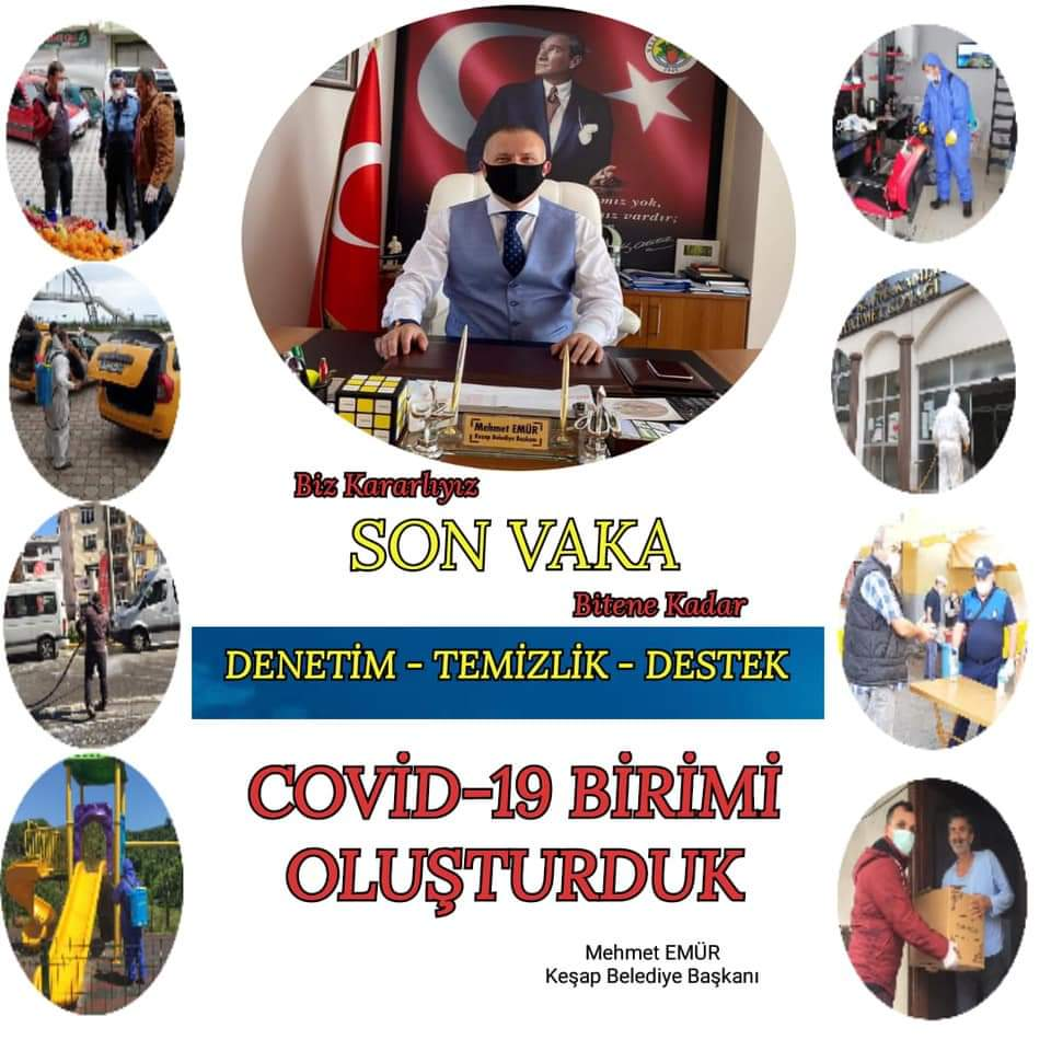 KEŞAP BELEDİYESİ COVİD-19 BİRİMİ
