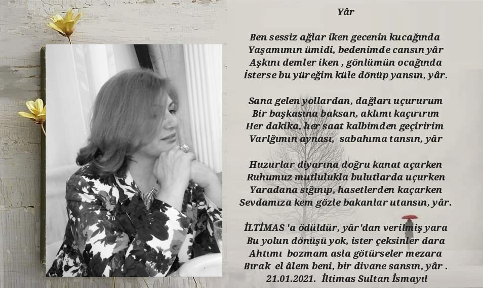 Sultan Şair İltimas Şiirnide Cansın Yâr..