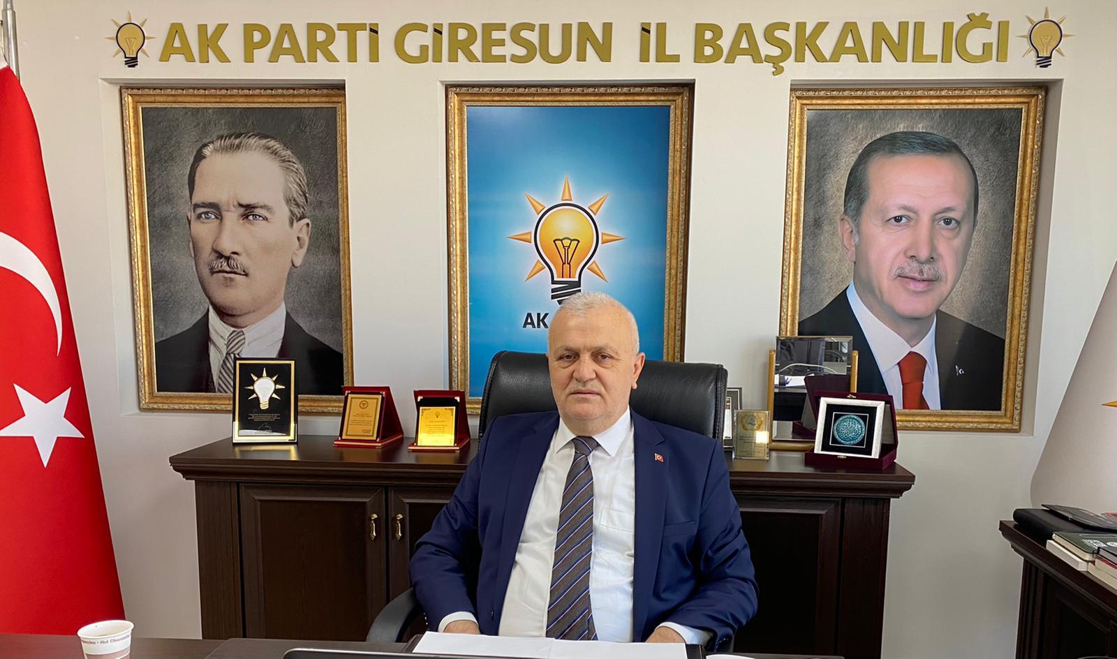 AK Parti Giresun 7. Olağan İl Kongresi 8 Şubat'ta