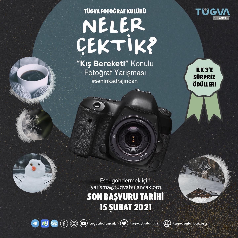 TÜGVA Bulancak'tan Kış Bereketi temalı Fotoğraf Yarışması
