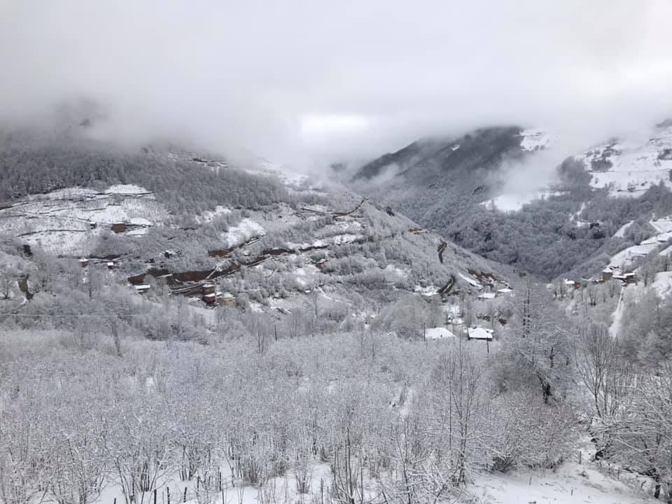 Giresun ve Ordu'nun Yükseklerinde Kar Etkili