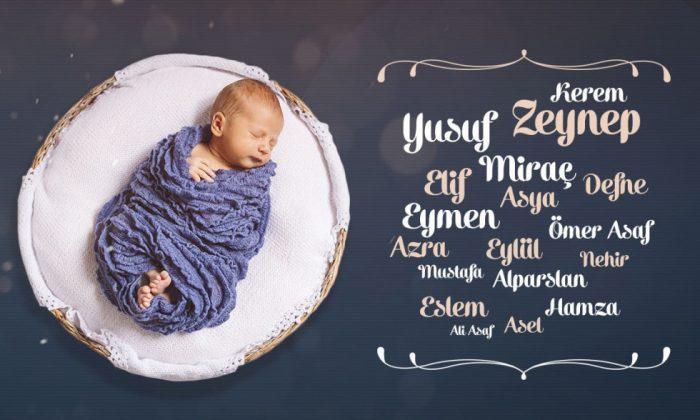 2020 Yılında Türkiye'de En Çok Tercih Edilen İsimler