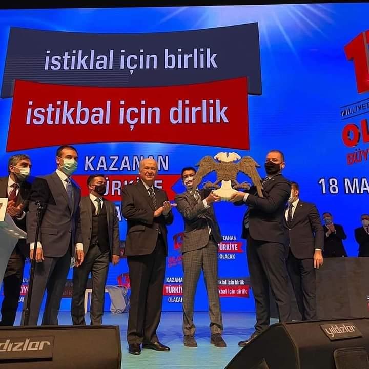 Giresunun Mhp Belediye Başkanları Kurultaya katıldı.