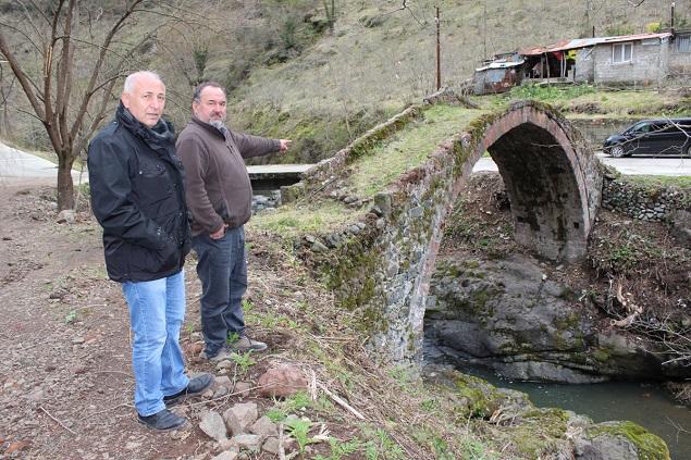 Görele'deki tarihi köprü ilgi