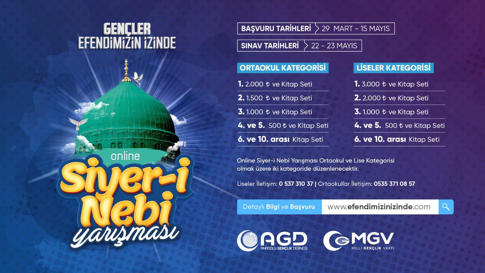 AGD'den Online Siyer-i Nebi Yarışması
