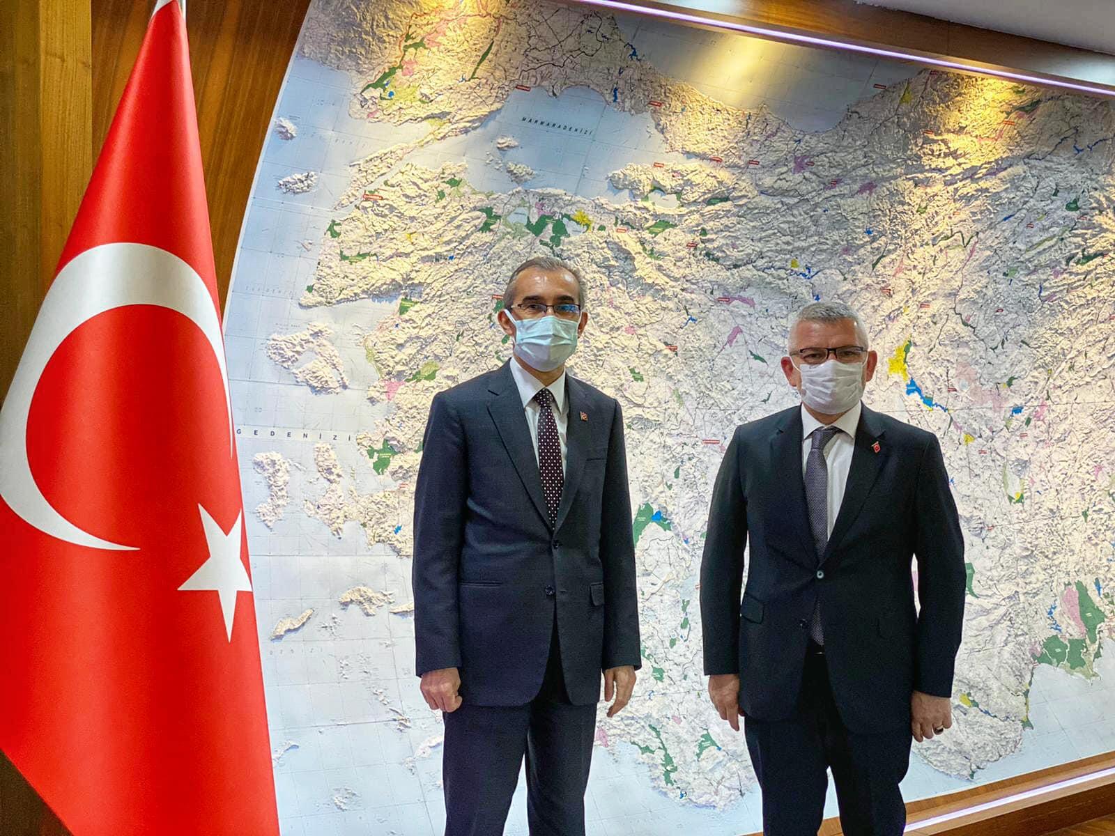 Giresun Milletvekili Kadir Aydın'dan Bakan Kasapoğlu'na ziyaret