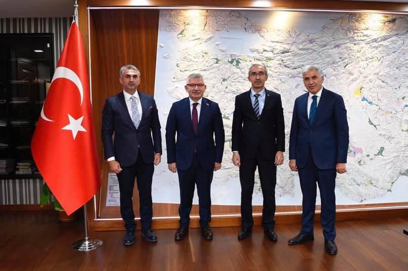 Milletvekili Kadir AYDIN'dan DSİ'ye Ziyaret