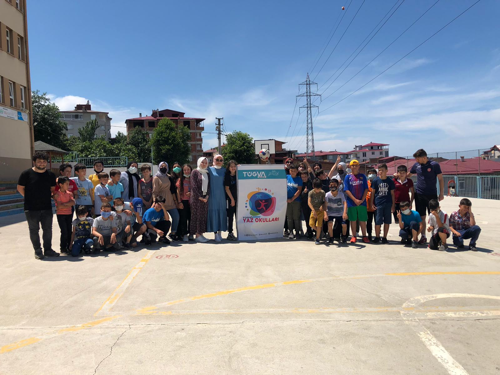 TÜGVA Bulancak Yaz Okullarında dolu dolu etkinlik