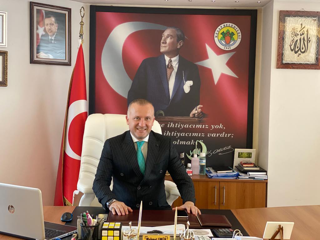 Başkan Emür 30 Ağustos Zafer Bayramı dolayısıyla bir mesaj yayımladı.