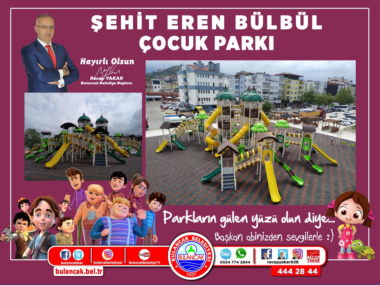 Şehit Eren Bülbül Çocuk Parkında Sona Gelindi